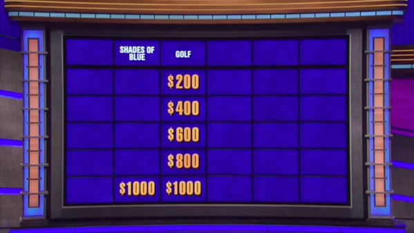 This golf-related Jeopardy! question got really dark, REALLY quickly